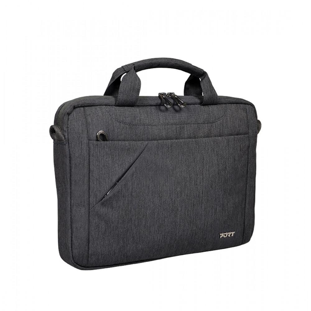 """Port Designs Sydney 15/16"""" Toploading Laptop Bag - Black"""
