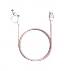 Adam Elements Peak II Duo MFi Lightning & Micro USB 1.2m