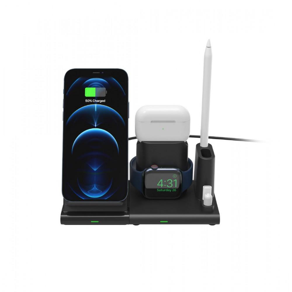 Adam OMNIA Q4 - 15W 4-in-1 Wireless Charging Station