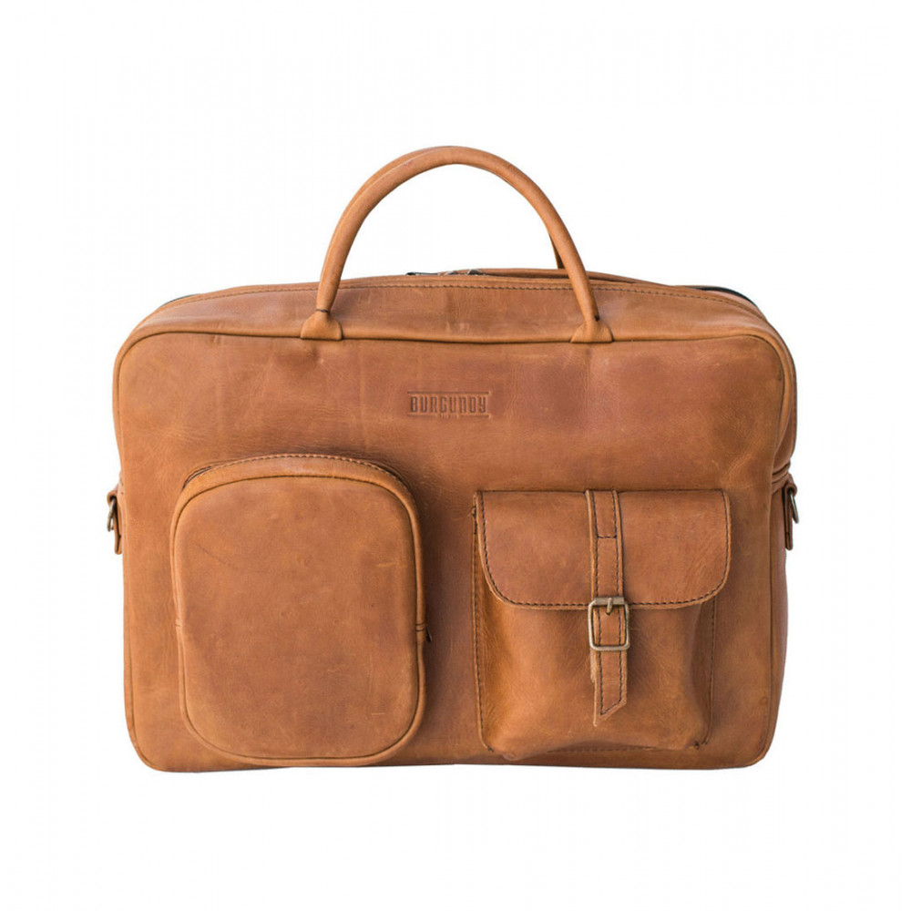 Burgundy Collective Business Briefcase