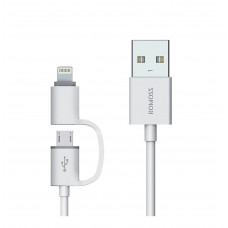 Romoss 2-in-1 Micro USB/Lighting Cable
