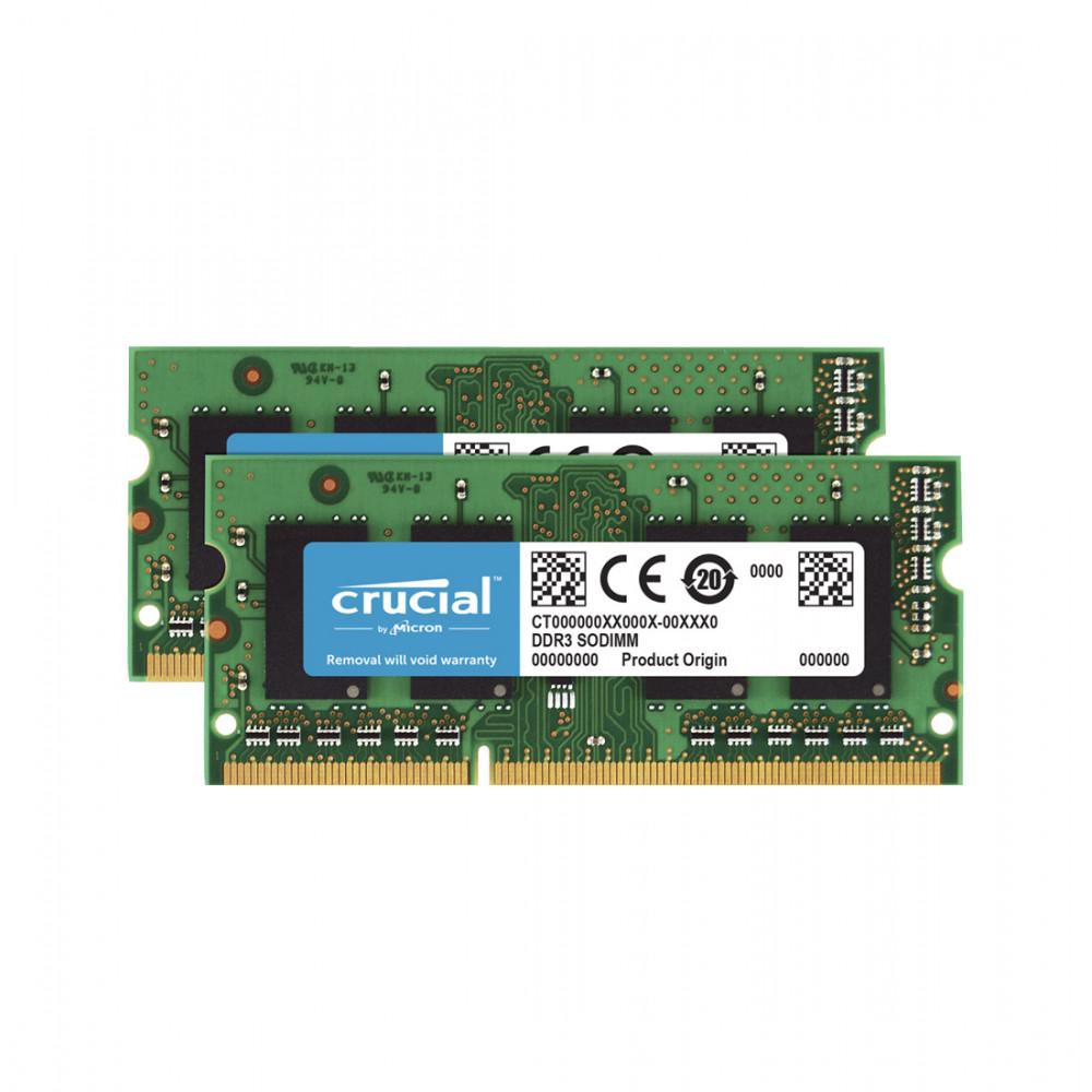 CRUCIAL 32GB KIT (2X16GB) 1866MHZ DDR3L SO-DIMM for iMac