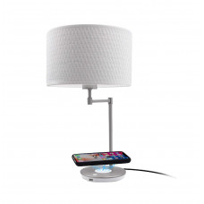 MACALLY - LED table lamp with wireless charging and USB Port