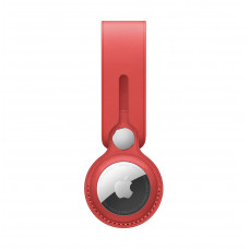 Apple AirTag Leather Loop - (PRODUCT)RED
