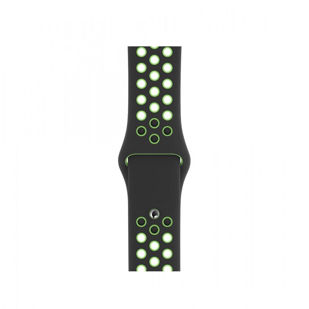 Apple 40mm Black/Lime Blast Nike Sport Band