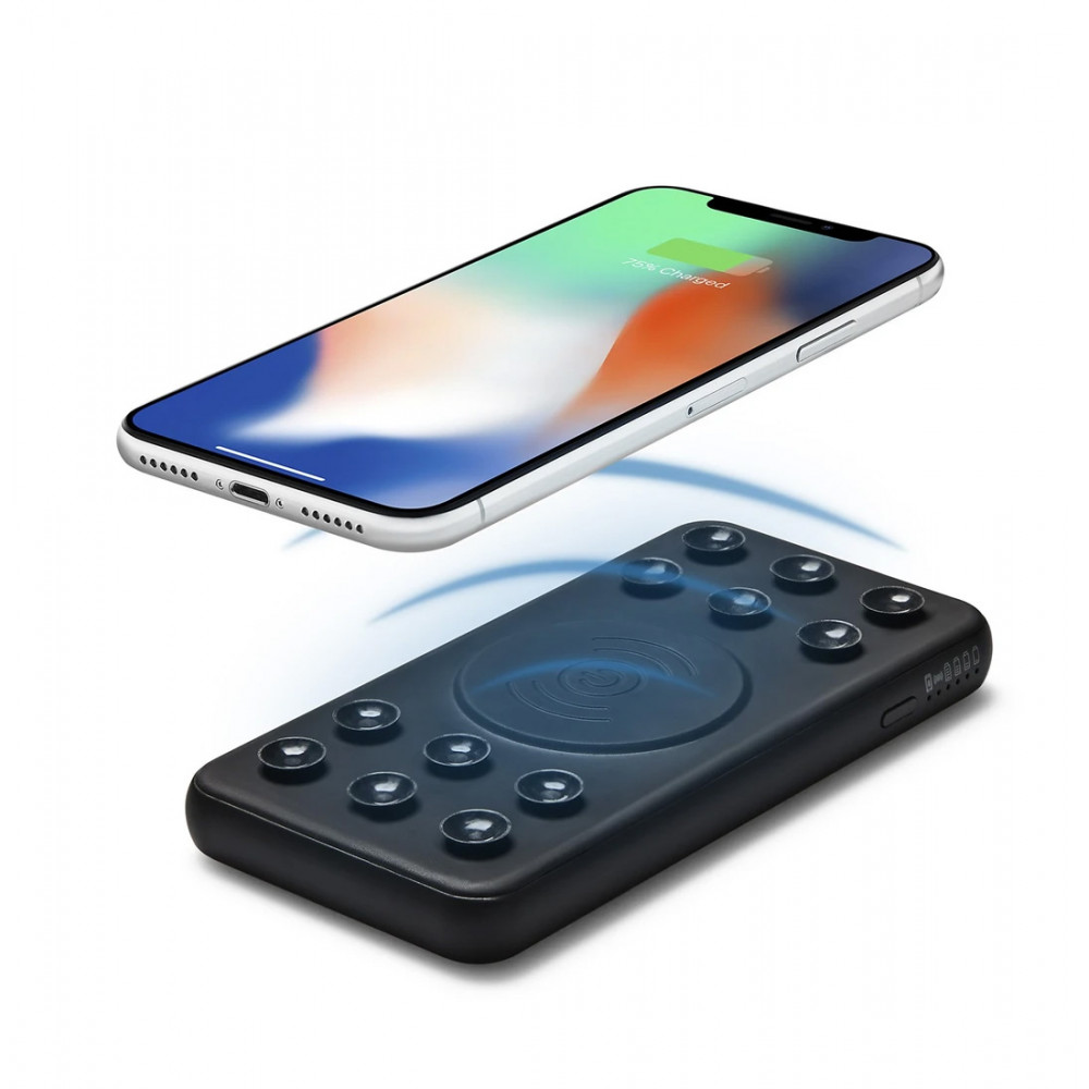 QDOS 2-IN-1 Wireless Charger and 5000mah Powerbank