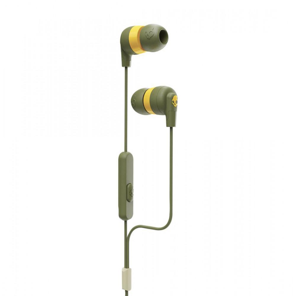 Skullcandy INK'D + In-Ear Moss/Olive/yellow