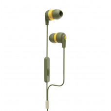 Skullcandy INK'D + In-Ear Moss/Olive/yellow