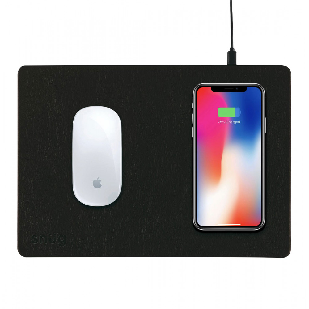 Snüg Mouse Pad With QI Wireless Charging