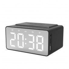 Snüg Bluetooth Clock Radio & Wireless Charger