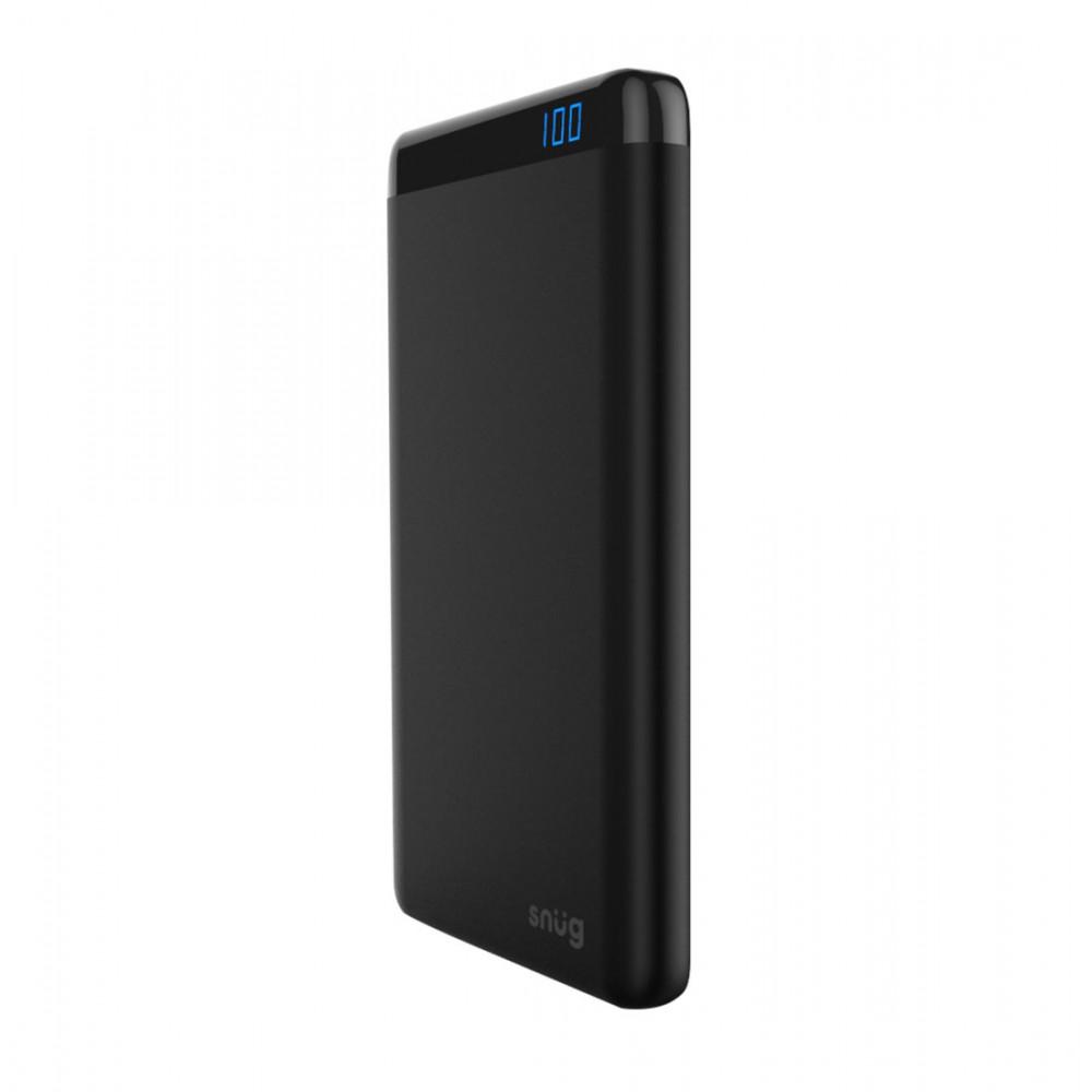 Snugg 20000Mah PowerBank with LCD - Black