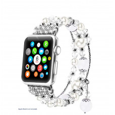 Steel Strap for Apple Watch - Crystal White - 42/44mm