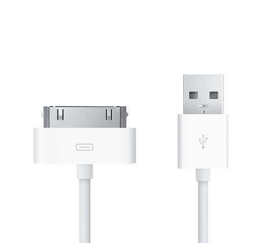 apple usb sync cable (30 pin) image