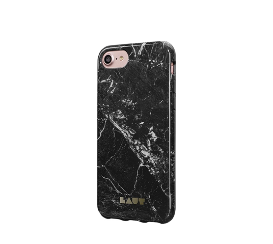 laut huex elements marble black cover for iphone 8/7 image