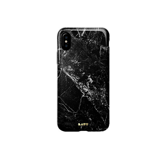 laut huex elements marble black cover iphone x/xs image