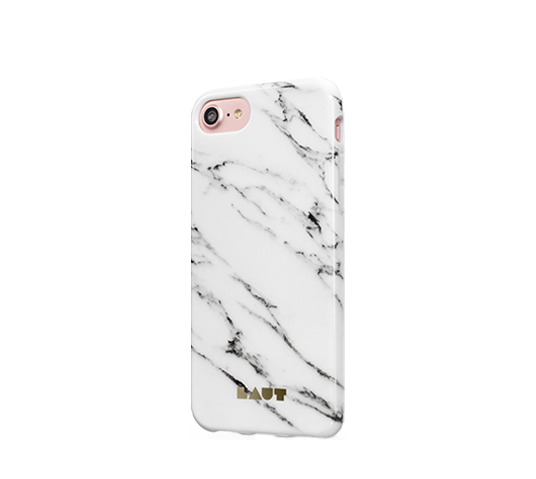 laut huex elements marble white cover for iphone 8/7 image