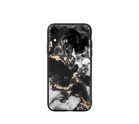 laut mineral glass black cover for iphone xr image