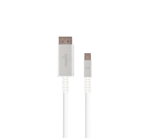 moshi mini displayport to displayport cable 1.5m image 1