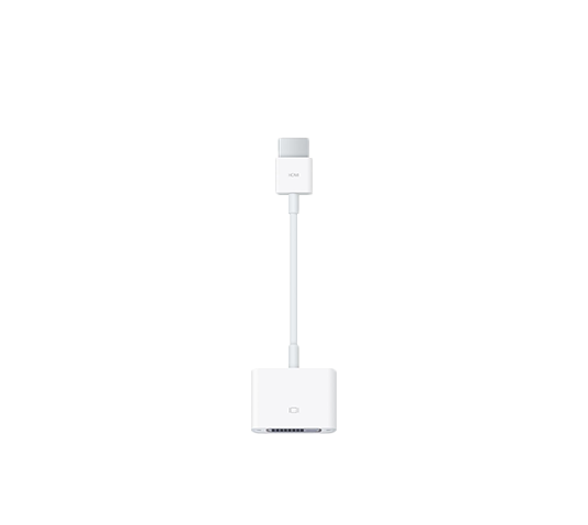 apple hdmi to dvi adapter image