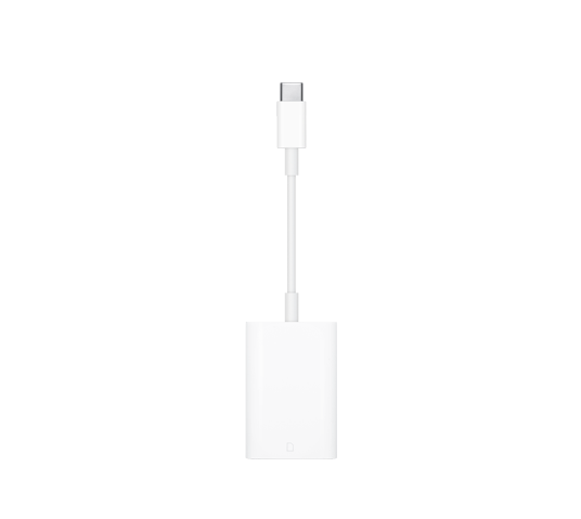 apple usb-c to sd card reader image