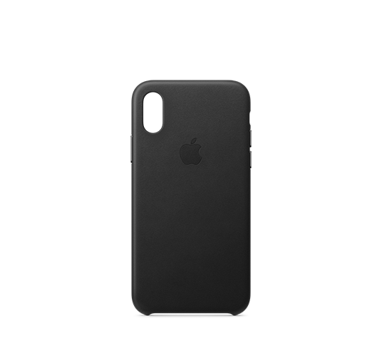 apple iphone xs leather case image
