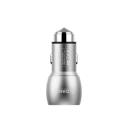 orico 2 port 15.5w usb car charger image