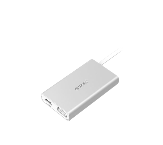 orico usb-c to hdmi/vga//ethernet/usb3.0 adapter image