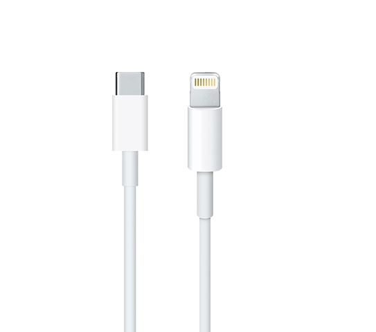 apple lightning to usb-c cable image