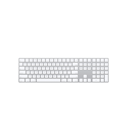 apple magic keyboard with numeric keypad image