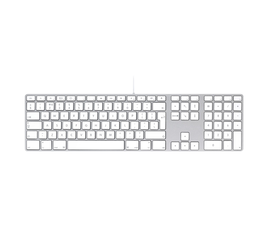 apple usb keyboard with numeric keypad image
