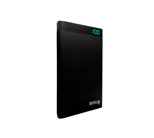 qualcomm 6000mah powerbank with lcd image