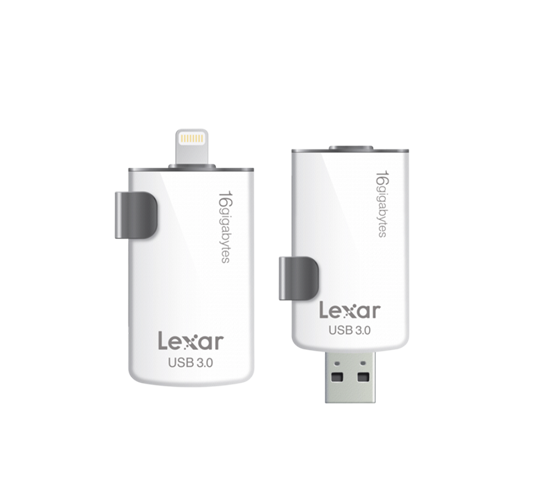 lexar jumpdrive m20i dual lightning & usb 3.0 for apple image