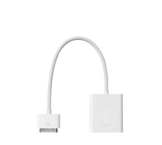 apple ipad dock connector to vga adapter image