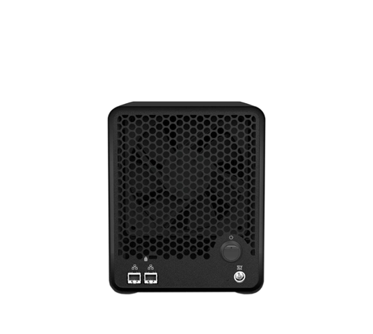 drobo 5n2 nas storage array 1gb ethernet image 2