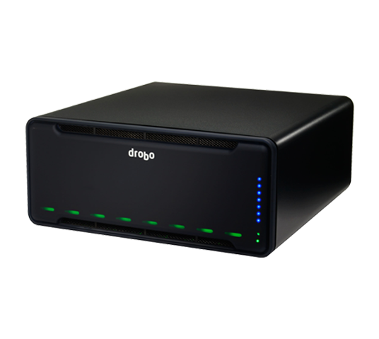 drobo b810i - 8 bay san storage for business (iscsi) image 2