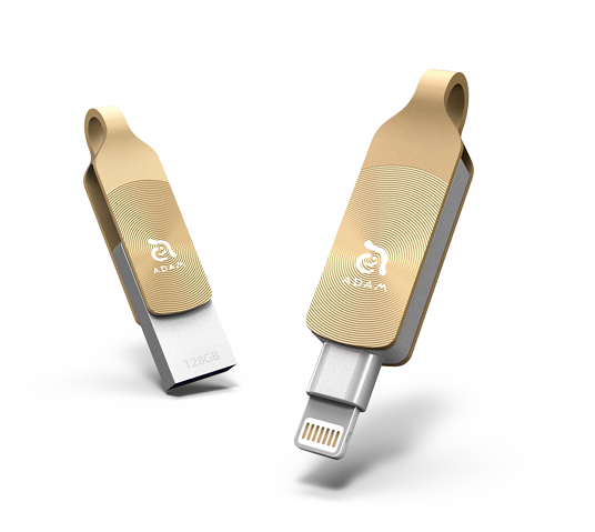 iklip duo plus 32gb - lightning flash drive image