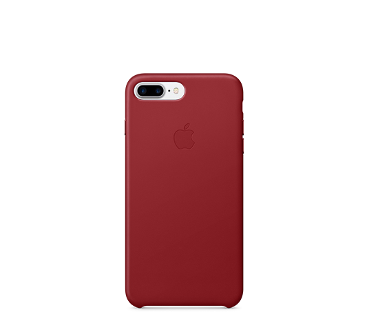 apple iphone 8/7 plus leather case image