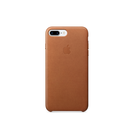 apple iphone 8/7 plus leather case image 1