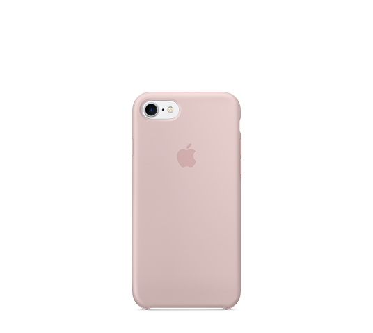 apple iphone 8/7 silicone case image 1