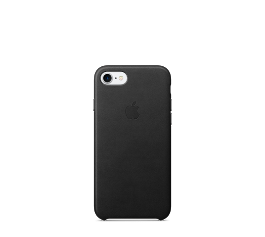 apple iphone 8/7 leather case image 1