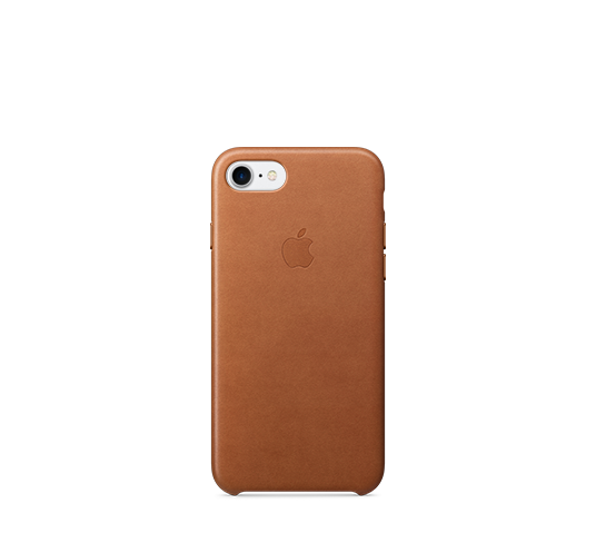 apple iphone 8/7 leather case image