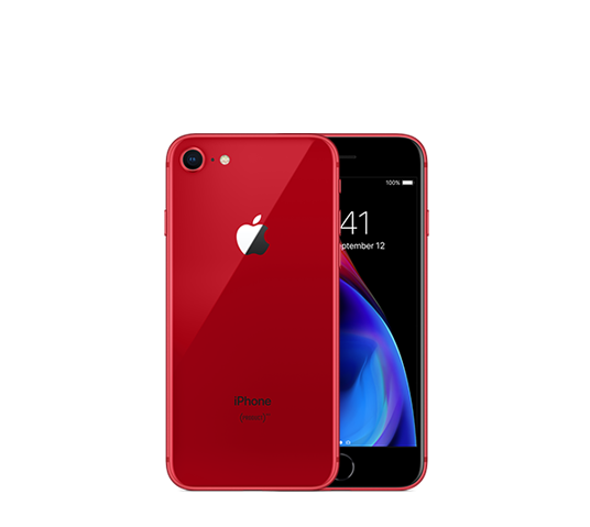 iphone 8 256gb - red image 1