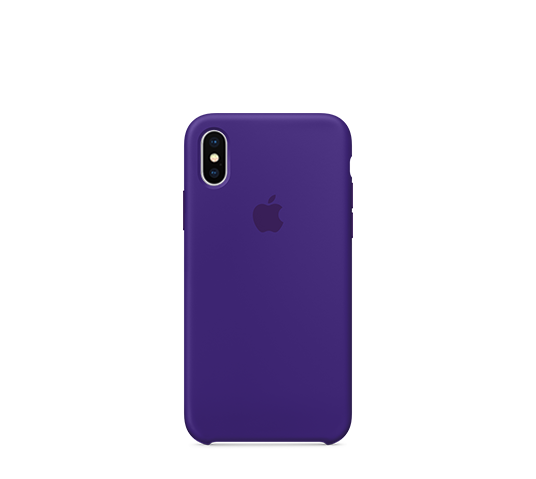 apple iphone x silicone case image