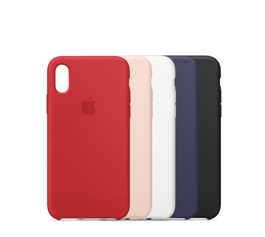 apple iphone xs max silicone case image