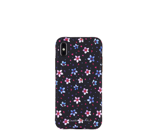 case mate wallpapers - floral garden cover for iphone xs max image
