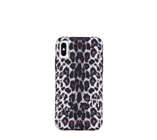case mate wallpapers - gray leopard cover for iphone xs max image