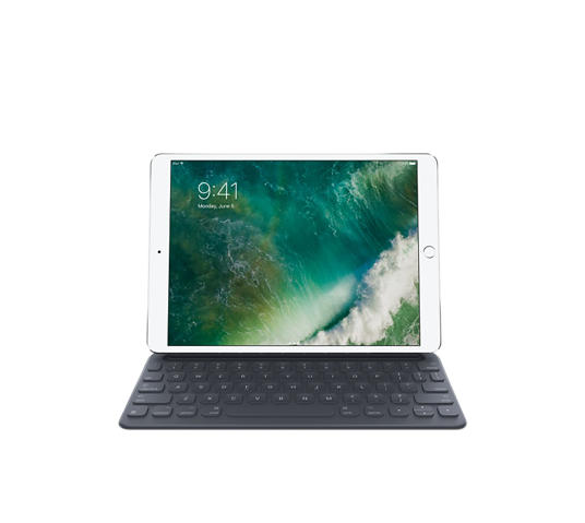 apple 10.5 ipad pro smart keyboard-us english image