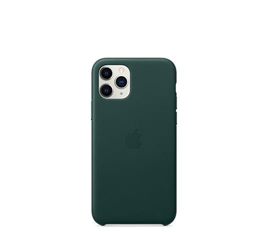 apple iphone 11 pro leather case image