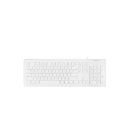 macally full size usb-c keyboard (us english) image