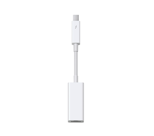 apple thunderbolt to gigabit adapter image